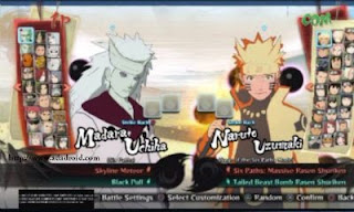 Download Naruto Senki MOD NSUNS4 V2 Full Version Update Terbaru
