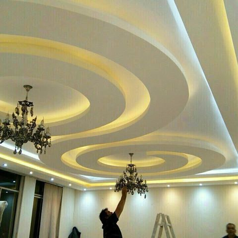 Pop design for hall ceiling - Latest ceiling design for living room ...