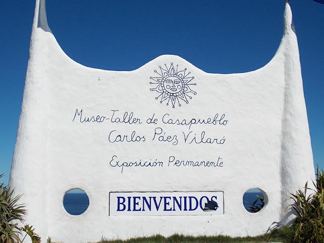 Totalmente demais novela, no Uruguai, Punta Ballena, Casa del Pueblo