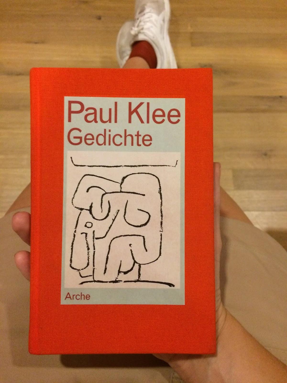 Hoolawhoop Paul Klee In Books And Titles