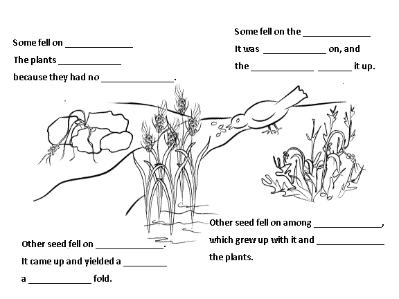 growing kids in grace  the parable of the sower