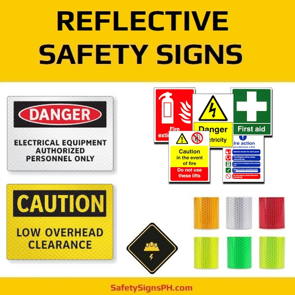 Reflective Safety Signs Philippines