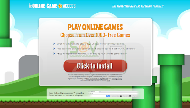 Easy Online Game Access Toolbar