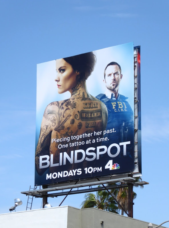 Blindspot series launch billboard