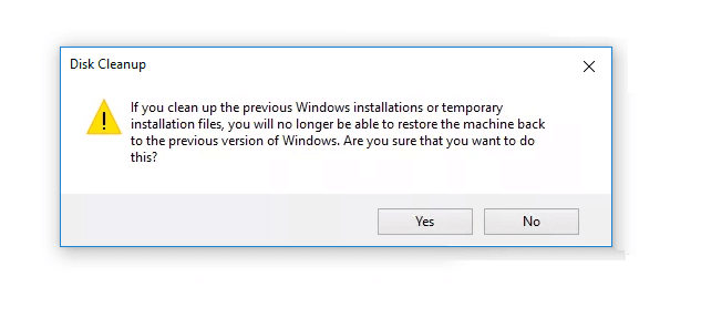 Delete Windows OLD