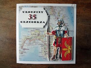 Kartka urodzinowa dla Grzegorza