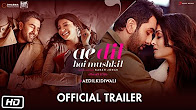 Watch Ae Dil Hai Mushkil 2016 Hindi Movie Trailer Youtube HD Watch Online Free Download