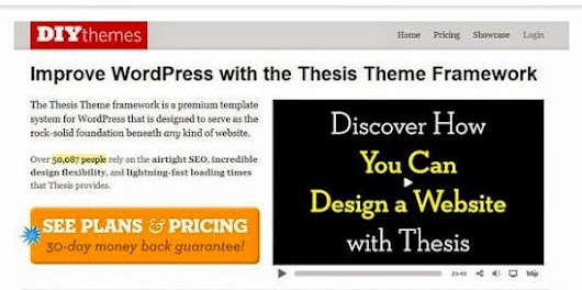 Thesis Premium Wordpress Framework