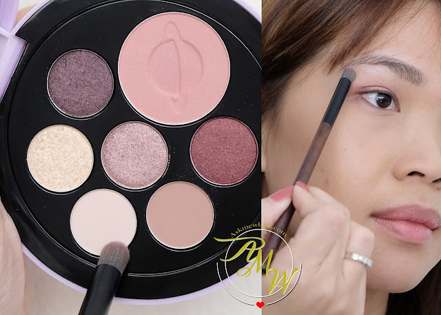 a photo of Etude House Universe Multi Palette in shade Pinky Galaxy Review and how to create sweet look by Nikki Tiu of www.askmewhats.com