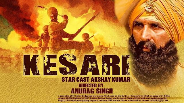 Kesari, Download Movie, Download Song, Kesari Full hd Movie Download