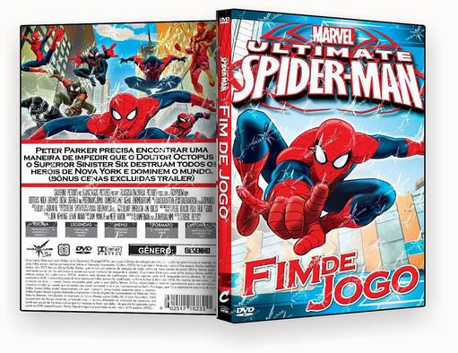 CAPA DVD – Ultimate Spider-Man Fim de Jogo – ISO