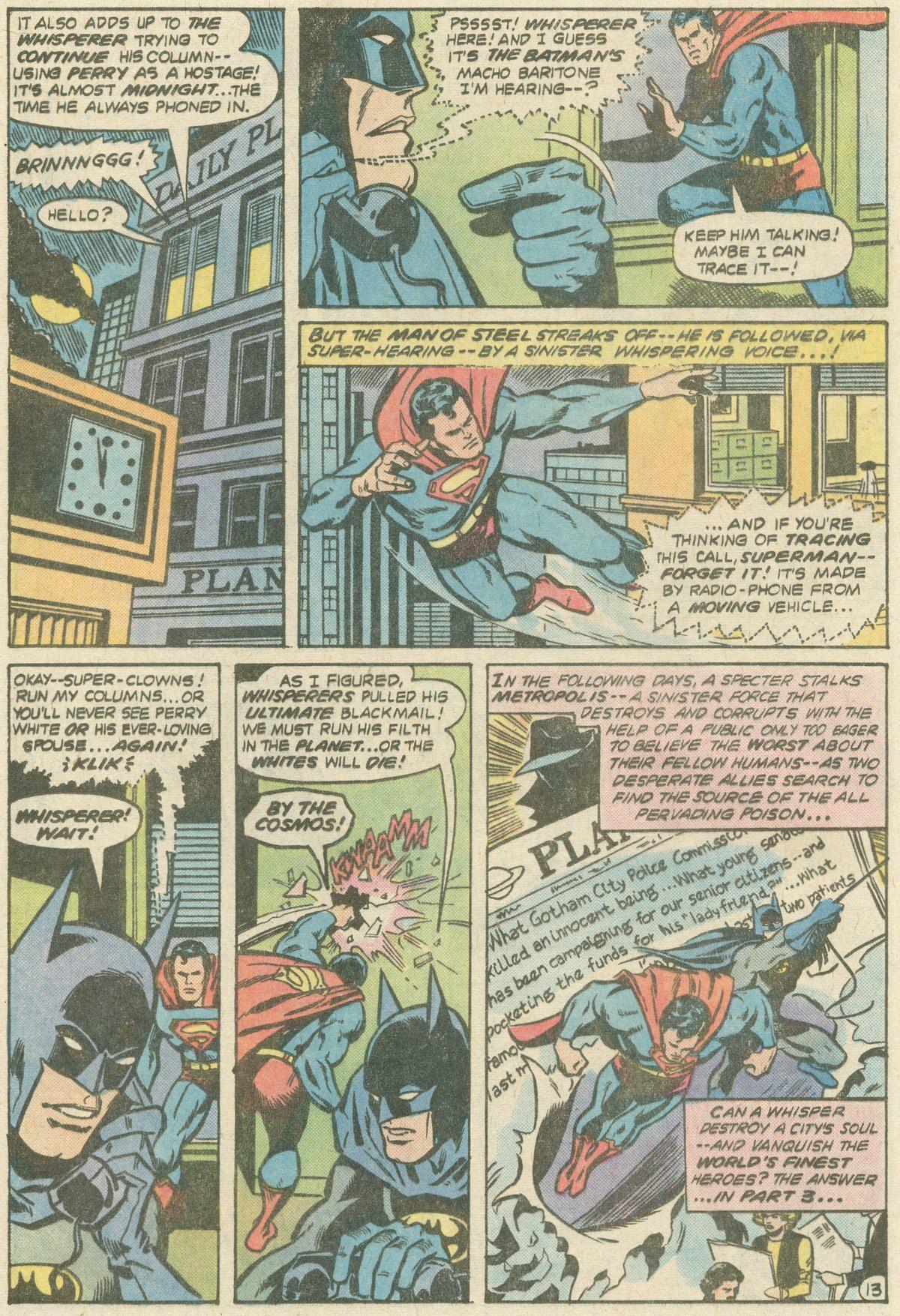 Read online World's Finest Comics comic -  Issue #252 - 17