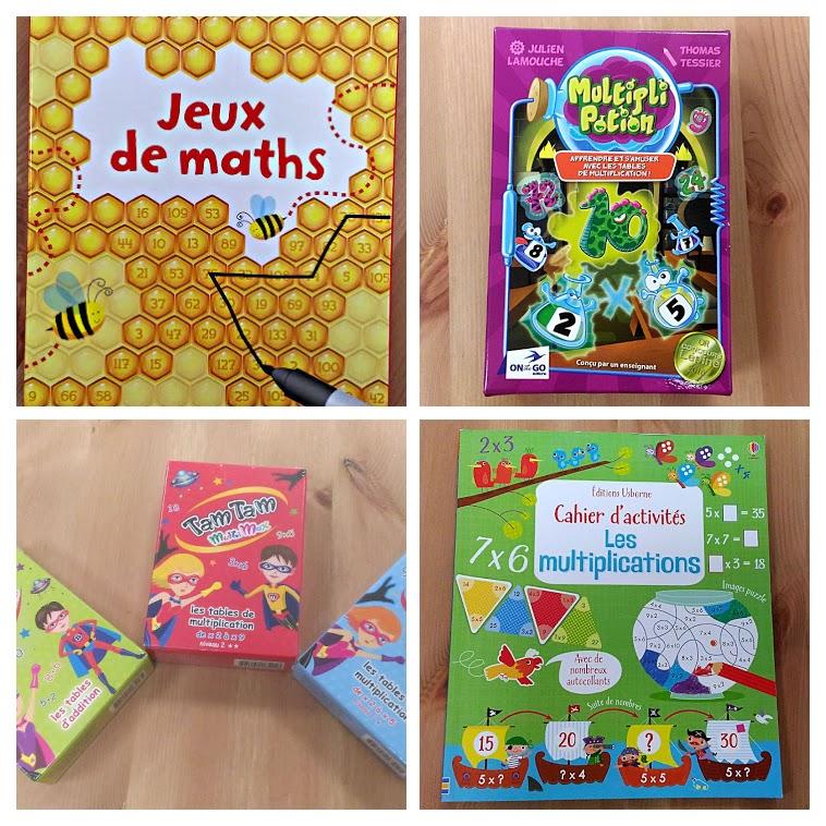Jeux de maths Usborne