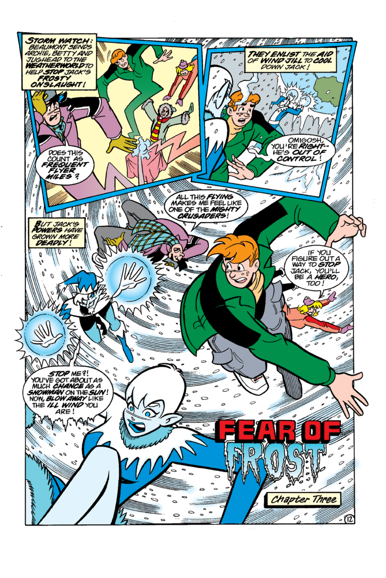 Read online Archie's Weird Mysteries comic -  Issue #11 - 14