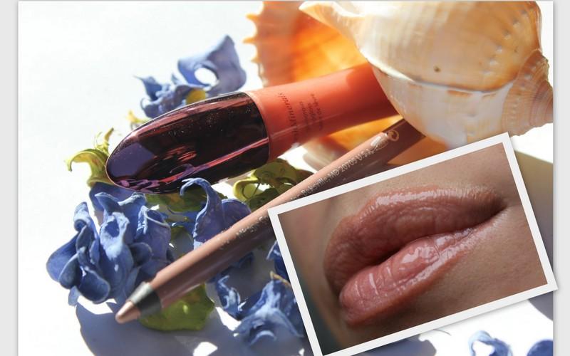 Отзыв: freshMinerals- «Гламурный» блеск для губ «Весенние цветы» и водостойкий лайнер для губ «светло-лиловый».