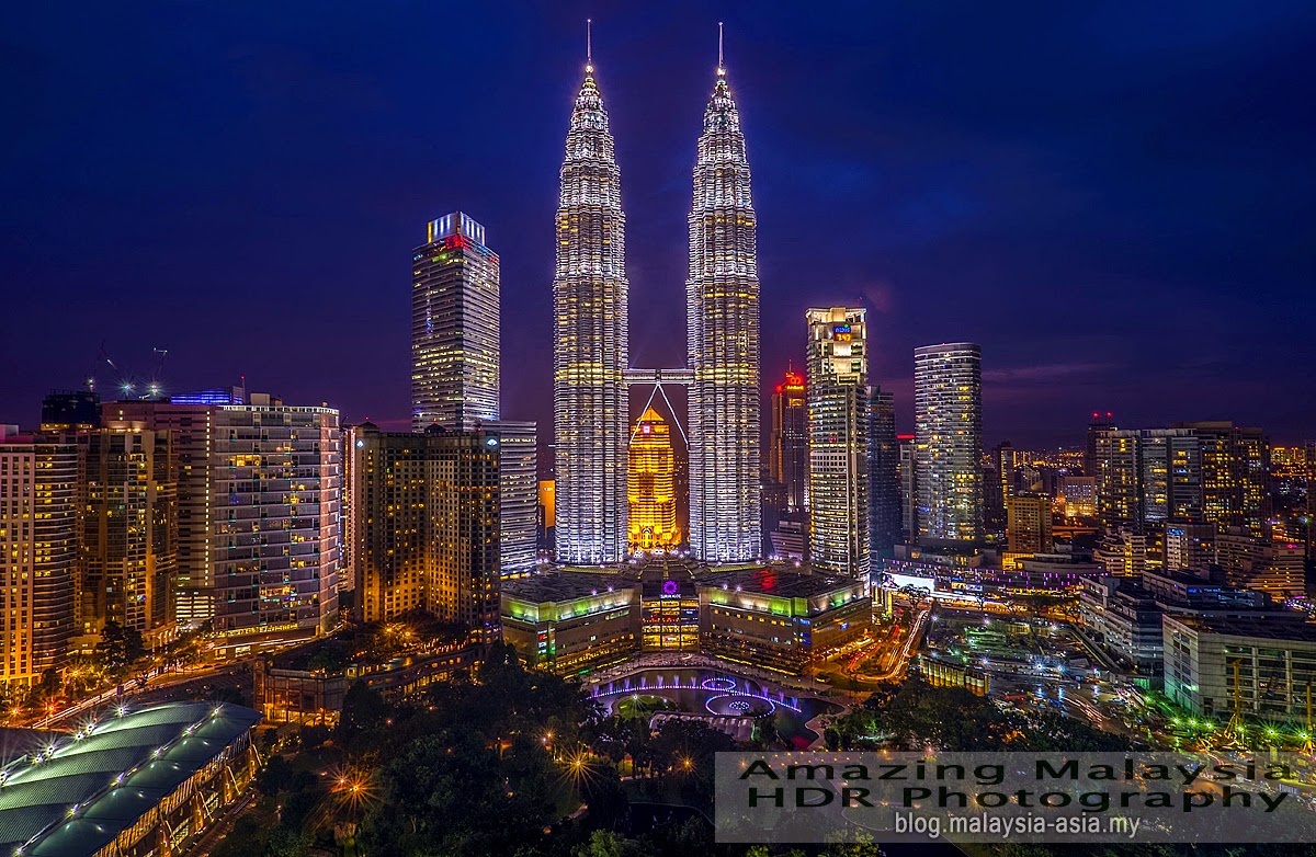 KLCC Malaysia HDR Photography