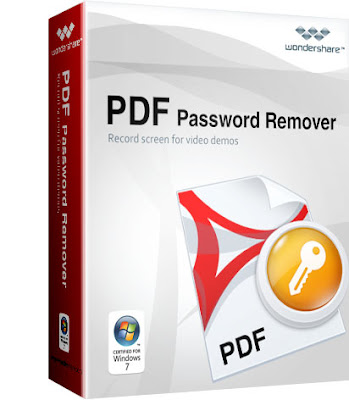 Wondershare PDF Password Remover { Latest 2018 }
