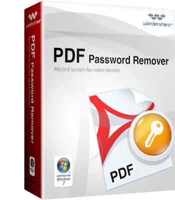 Wondershare PDF Password Remover { Latest 2018 }