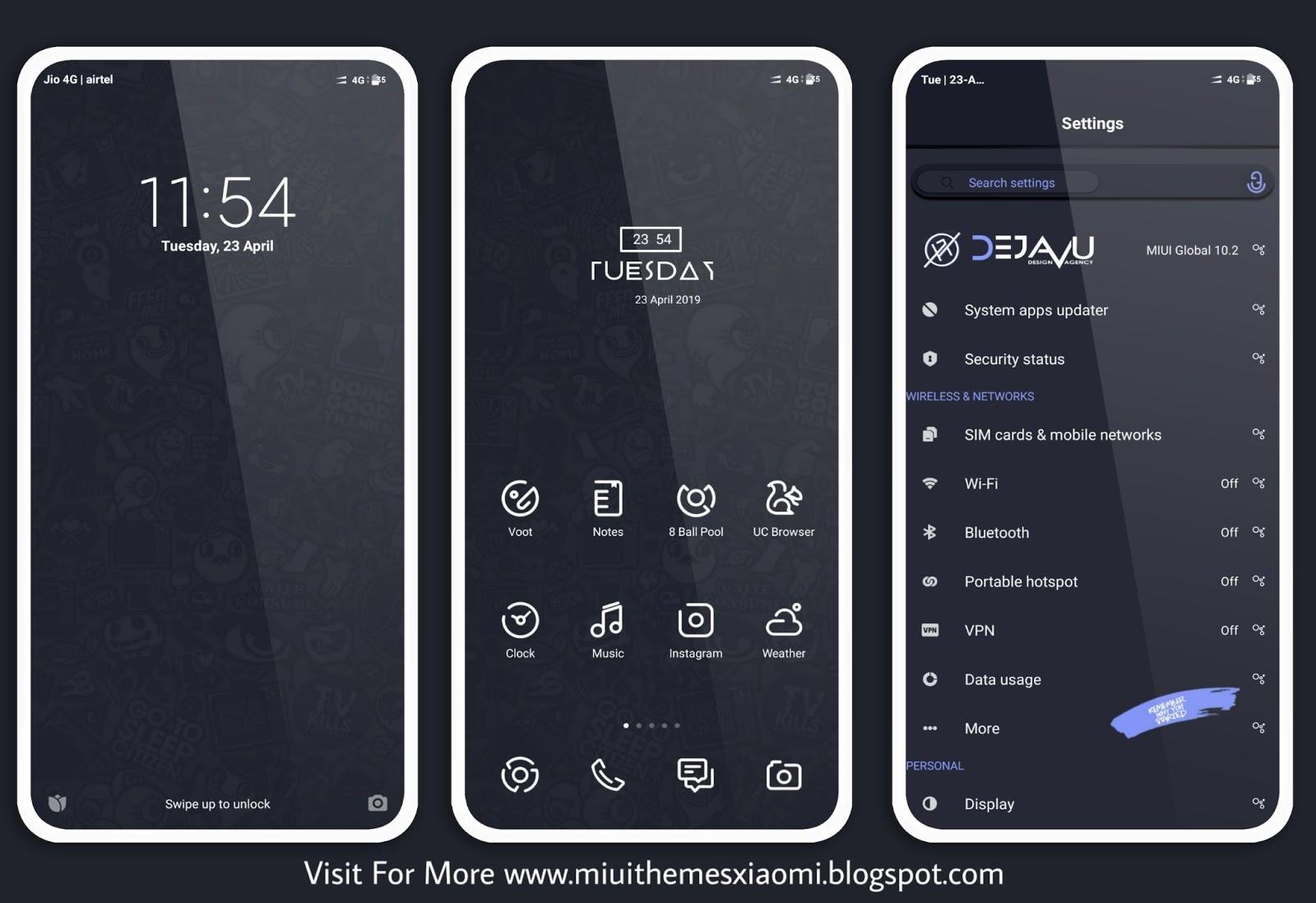 Dark Edition MIUI Theme Download For Xiaomi Mobile || MIUI