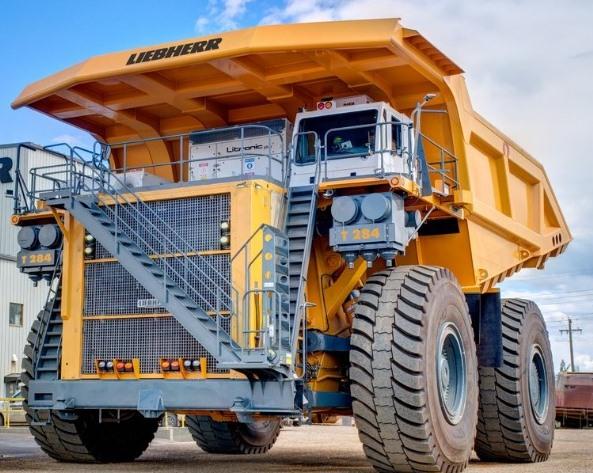 Liebherr T284,haul truck,truk tambang,