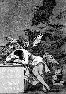 sonno ragione genera mostri