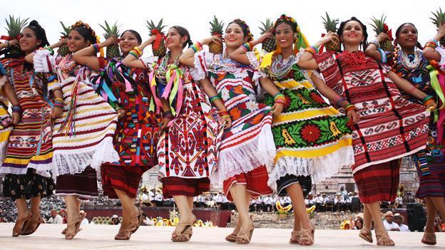 Origen danza Guelaguetza
