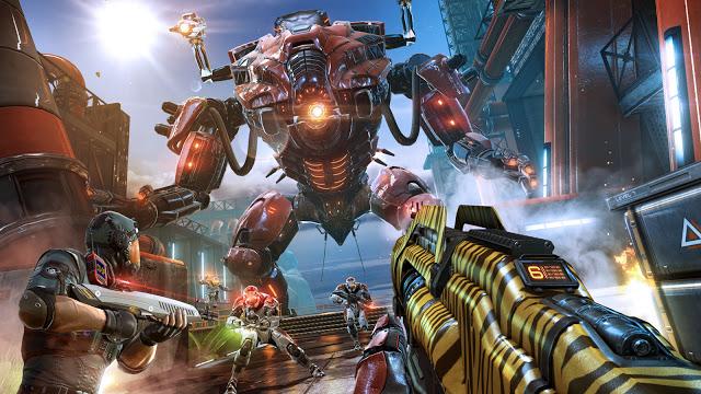 تحميل لعبة Shadowgun Legends مهكرة كاملة للاندرويد باخر اصدار