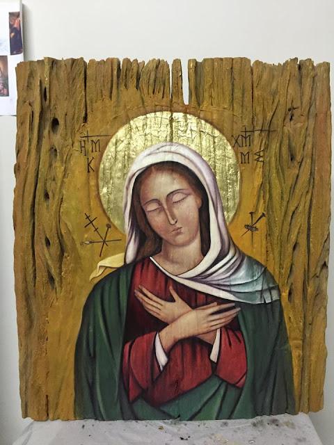 O Oratório em Londrina irá receber em agosto o ícone de Nossa Senhora.  Inspirado a partir da pintura do Guercino, conservado em Bolonha-Itália, ... 5624d13b61