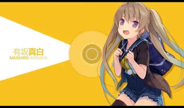 Third Screenshot from Aokana: Four Rhythm Across the Blue trailer