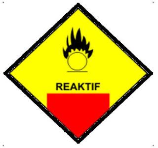 simbol B3 bahan reaktif