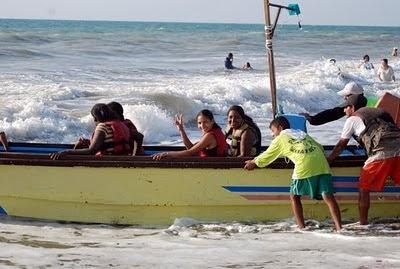 Playa de San Clemente Manabi Aventura turística