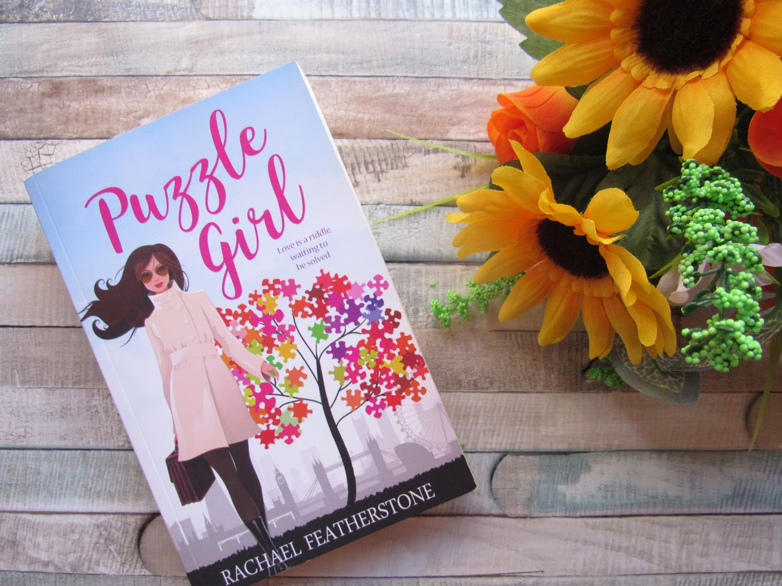 Book Review & Cover Reveal | Puzzle Girl By Rachael Featherstone