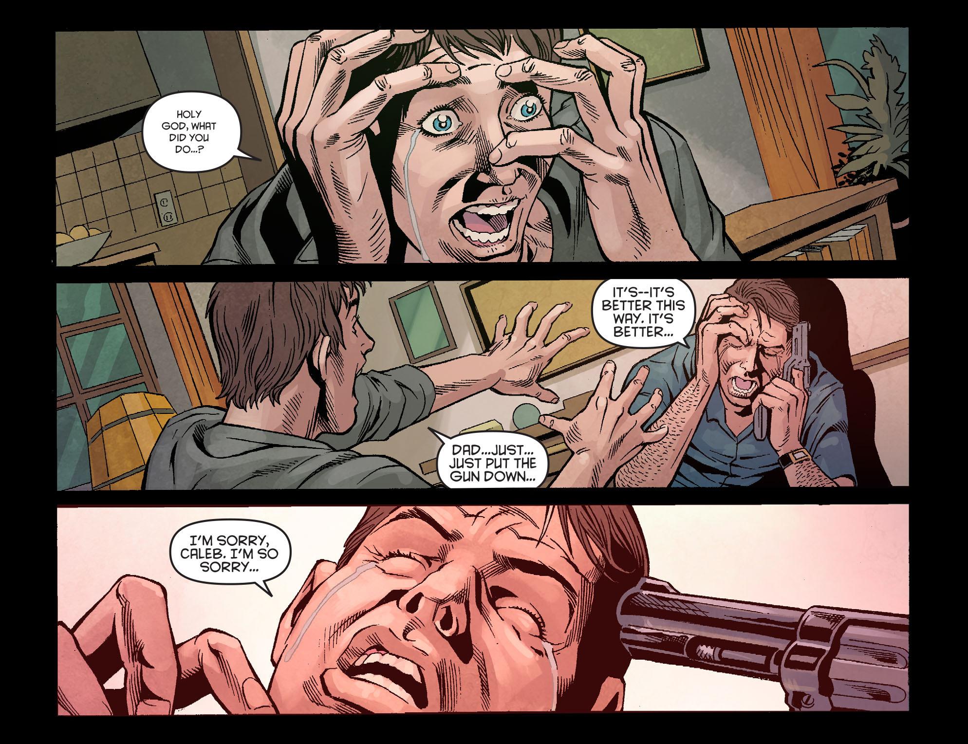 Read online Arrow: Season 2.5 [I] comic -  Issue #1 - 7