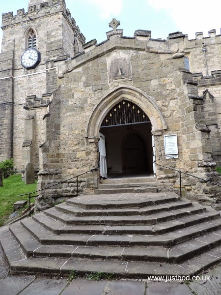 St Peter's and St Paul's church, Pickering, Yorkshire