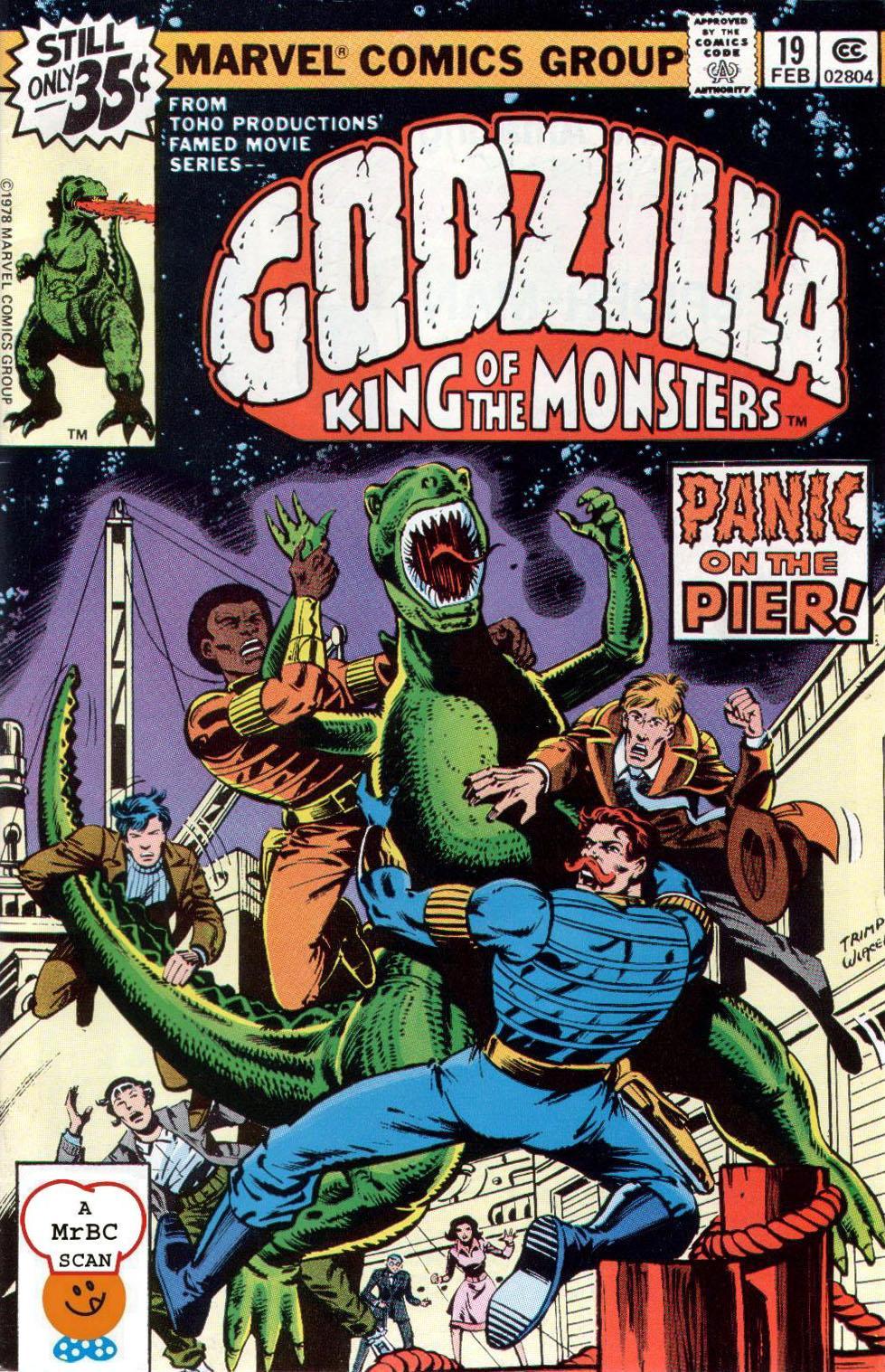 Godzilla (1977) 19 Page 1