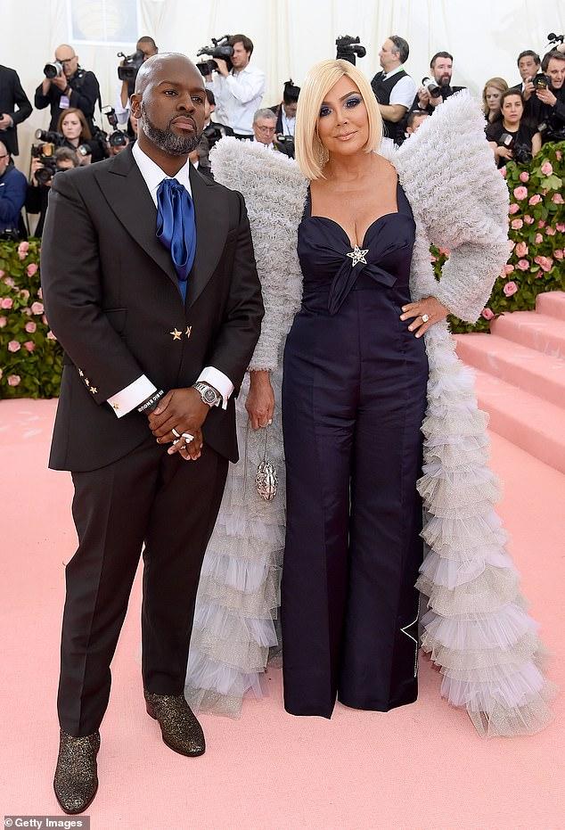 Kris Jenner hit the 2019 Met Gala red carpet while wearing a blonde wig