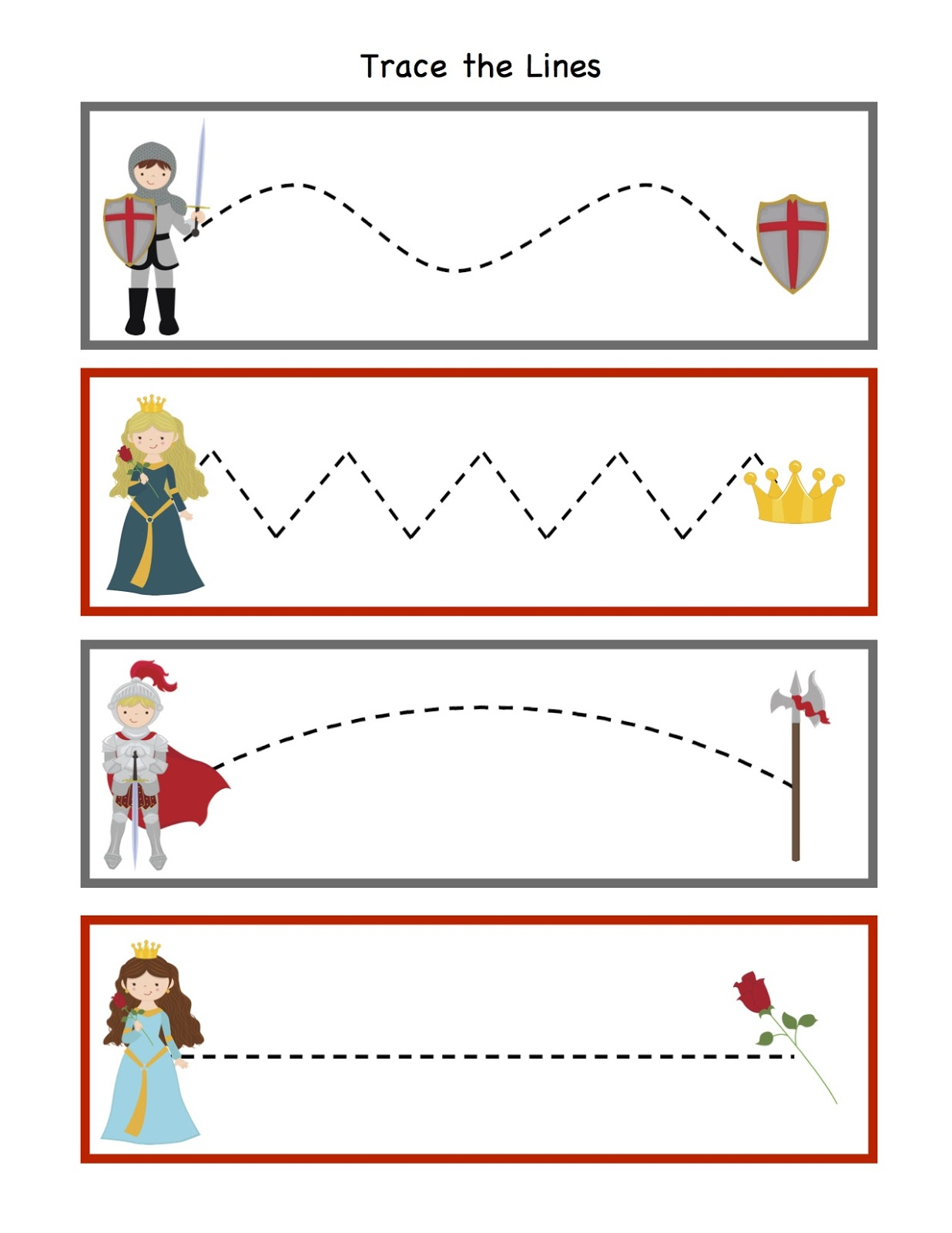 Preschool Printables March
