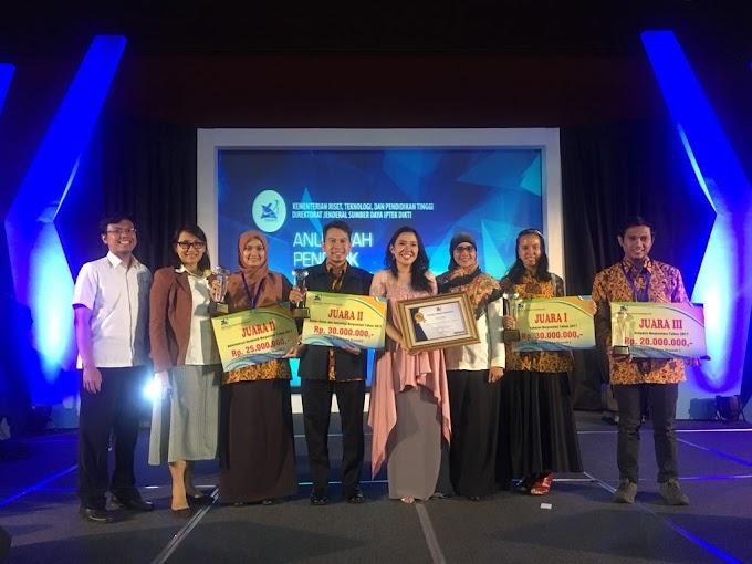 Dosen dan Tenaga Pendidik UI Raih Anugerah Diktendik Berprestasi 2017