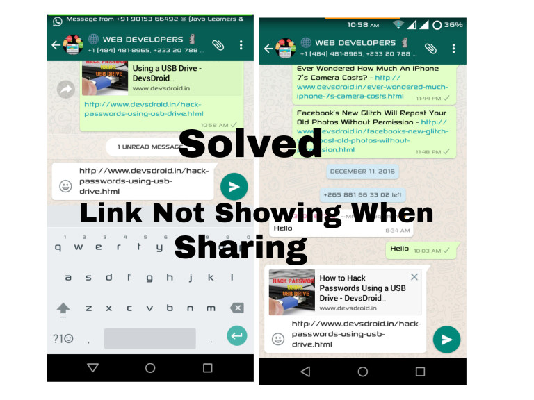 How to fix Blogger Thumbnail image not appearing on whatsapp