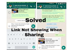 How To Fix Blogspot Posts Image Not Displaying On Whatsapp.