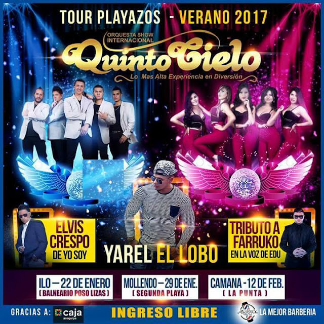 Tour Playazos 2017