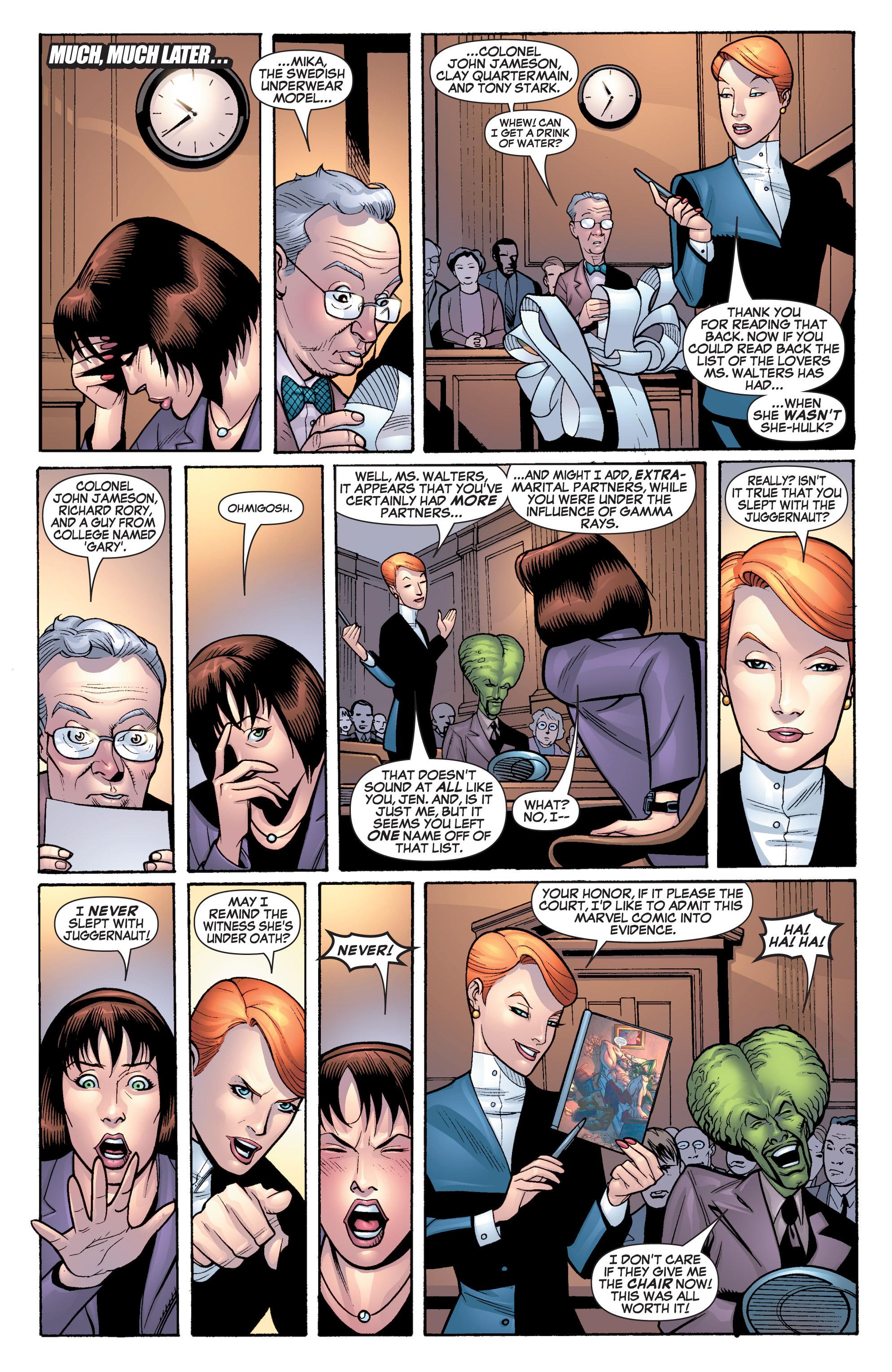 Read online She-Hulk (2005) comic -  Issue #19 - 14
