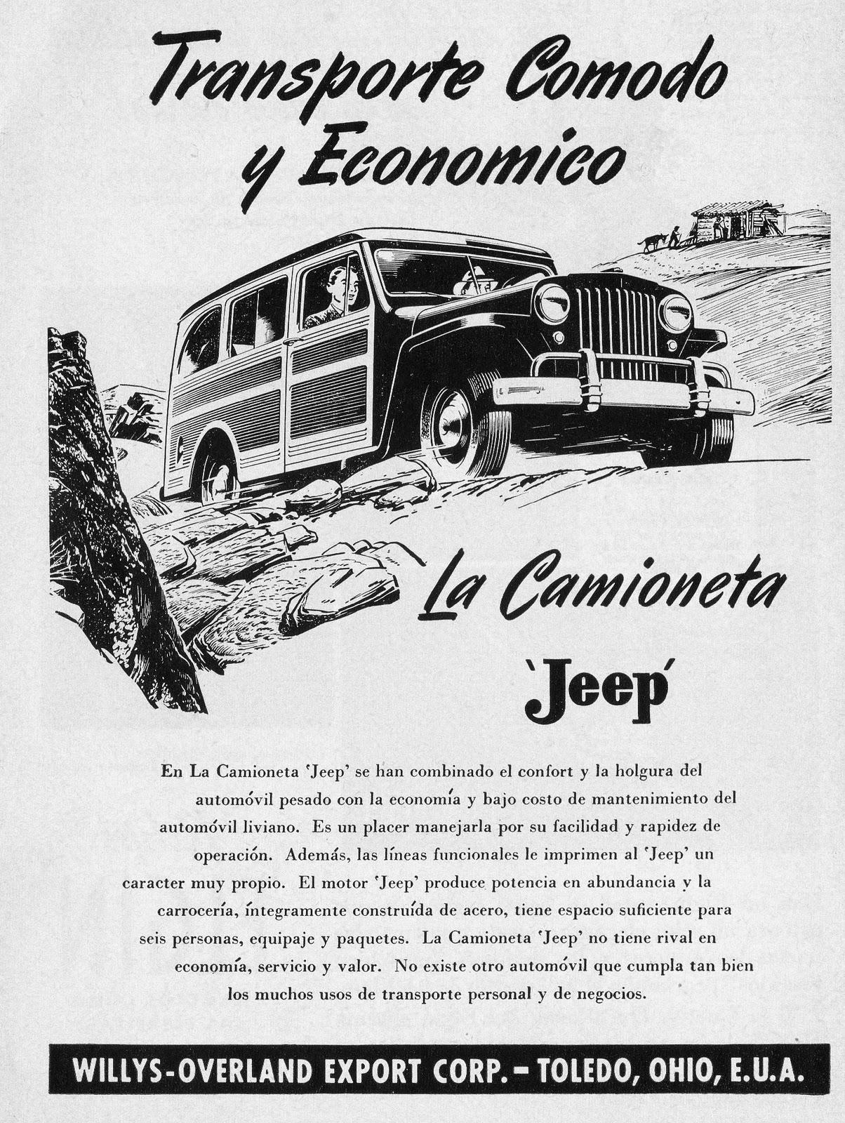 1952 willys del Schaltplan