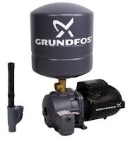 Daftar harga dan spesifikasi  pompa air merk GrundFos JD basic 5