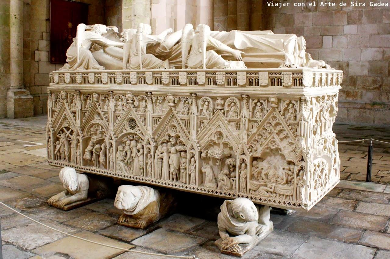 sepulcro D. Inés de Castro