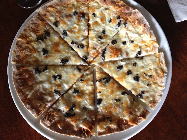 Cafe Ysabel's Truffle Pizza