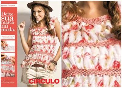 Tutorial Blusa Combinada con Crochet