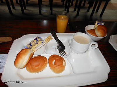 Hotel Villa Fontaine Roppongi, Japan - my breakfast plate