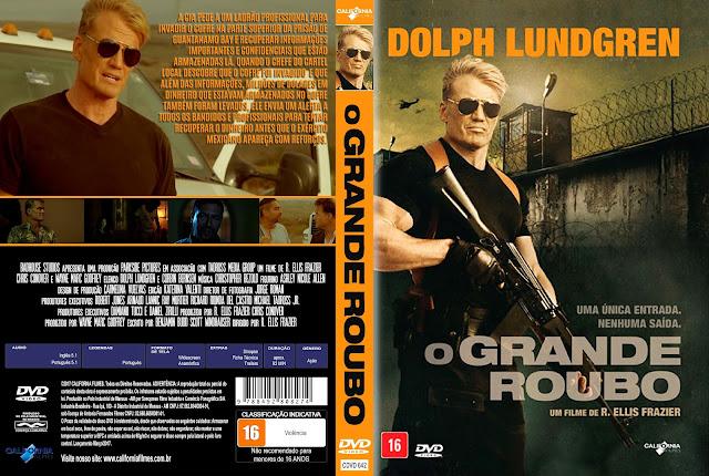 Capa DVD O Grande Roubo [Exclusiva]
