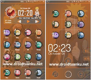 Naruto Theme for Xiaomi